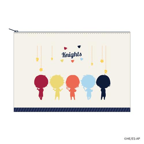 フラットポーチ(Knights)