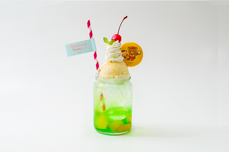 【大阪会場限定】<br>ツートンメロンクリームソーダ
