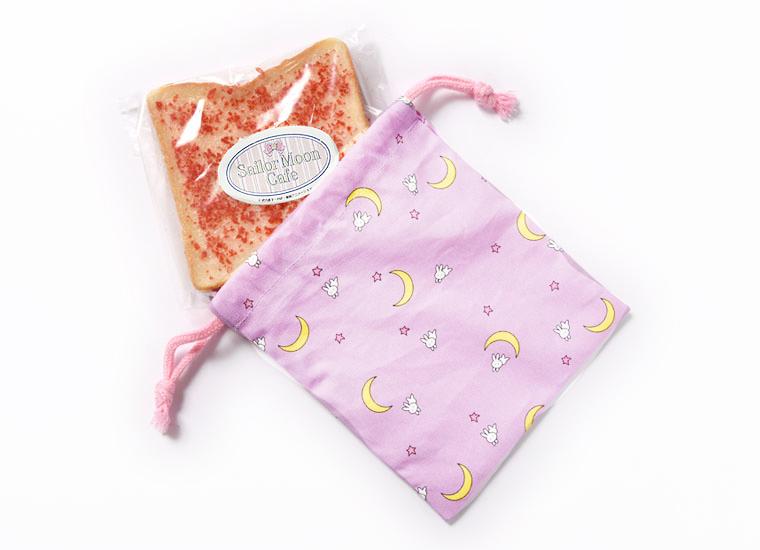 育子ママ特製♡うさぎちゃんのお寝坊食パン<br>(オリジナル布団柄巾着付)