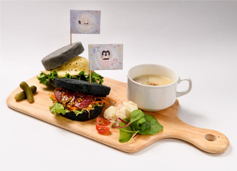 アルトリア・オルタ&ジャンヌ・オルタのサンドイッチディッシュ