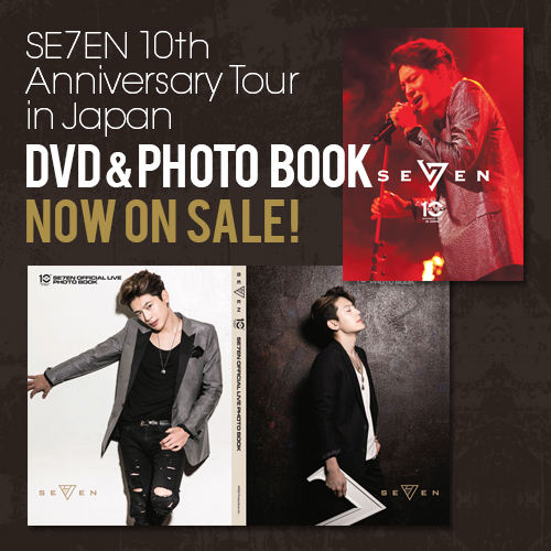SE7EN 10th Anniversary Live in Japan DVD&PHOTO BOOK