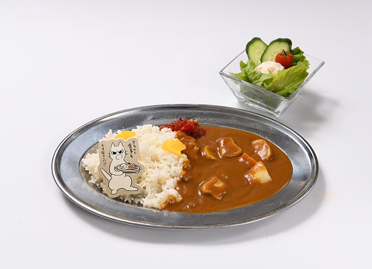 原宿カレーライス「きちんと食事をとりなさーい!!」