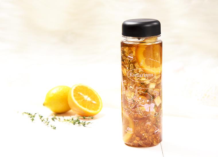コリラックマのウォーターボトル付きアイスレモンティー