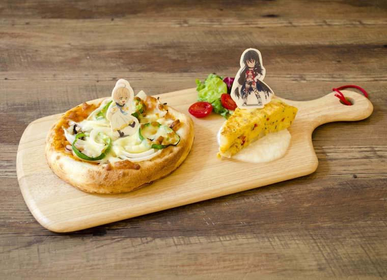 ベルベットとライフィセットが贈る ダイオウイカのシーフードピザ&クラウ家の特製キッシュ