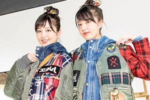 【PART3】りかりこがX-girlを訪問!最新アイテムで双子コーデに挑…