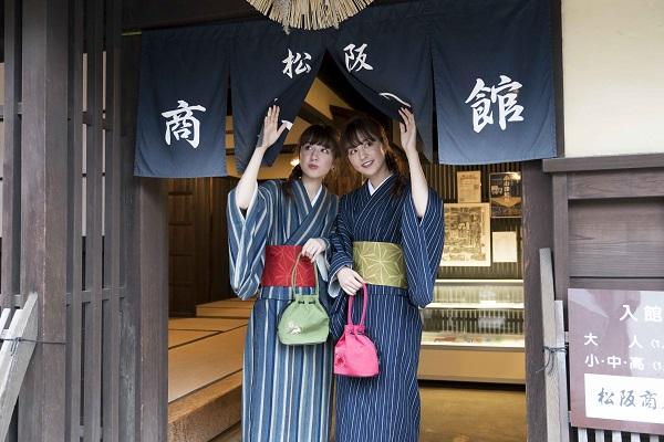 りかりこ 松阪もめんの着物を着て松阪の街をおさんぽ!りかりこスタイルブッ…