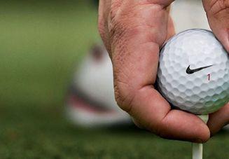 ゴルフのリフティング
