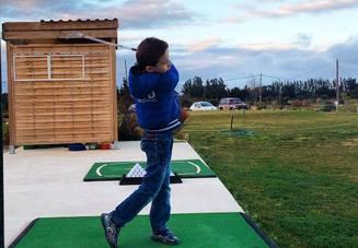 ゴルフ用秋冬ベストを