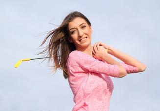握り方の1つ!ゴルフ