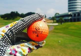 中古のゴルフボールで