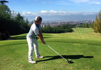 ゴルフスキルを上げた