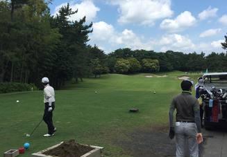 ゴルフのセンスはココ