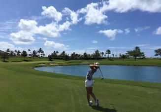 ゴルフのラウンドスタ