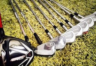ゴルフクラブのシャフ