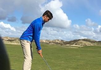 ゴルフのスイングに大