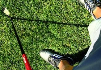 ゴルフのグリップに種