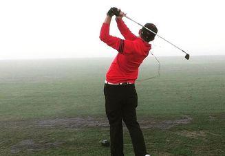ゴルフでできた筋肉痛