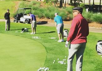 ゴルフのコースデビュ
