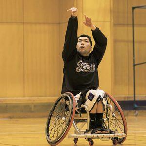 車椅子バスケットボール 藤澤 潔選手 team:埼玉ライオンズ