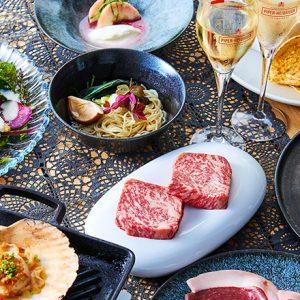 〈ルミネ新宿1〉ビアガーデンに、プレミアムな野外レストラン〈DINING OUT〉プロデュースのスペシャルコースが6/11~登場!