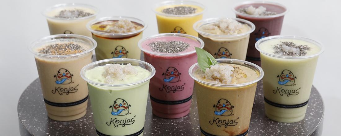 日本初の生芋こんにゃくスムージー専門店〈Konjac+〉が新宿アルタにオープン!