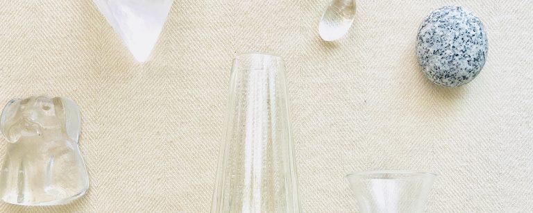 おうちインテリアにおすすめ!透明だからこそ、形が際立つガラス素材。