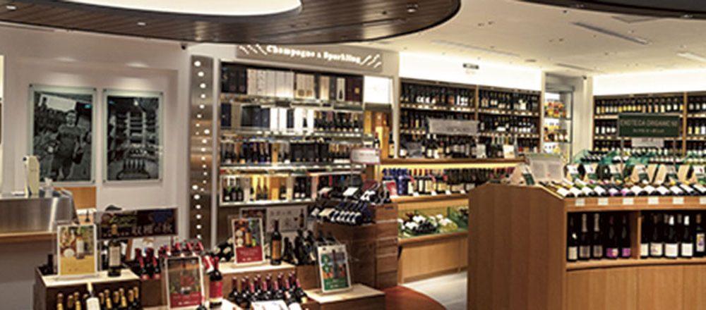 ワインショップ・エノテカ GINZA SIX店