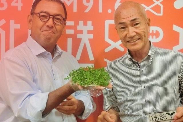 """フィルムからレタスが育つ!?""""土を使わない野菜""""はスティーブ・ジョブズの言葉から生まれた"""