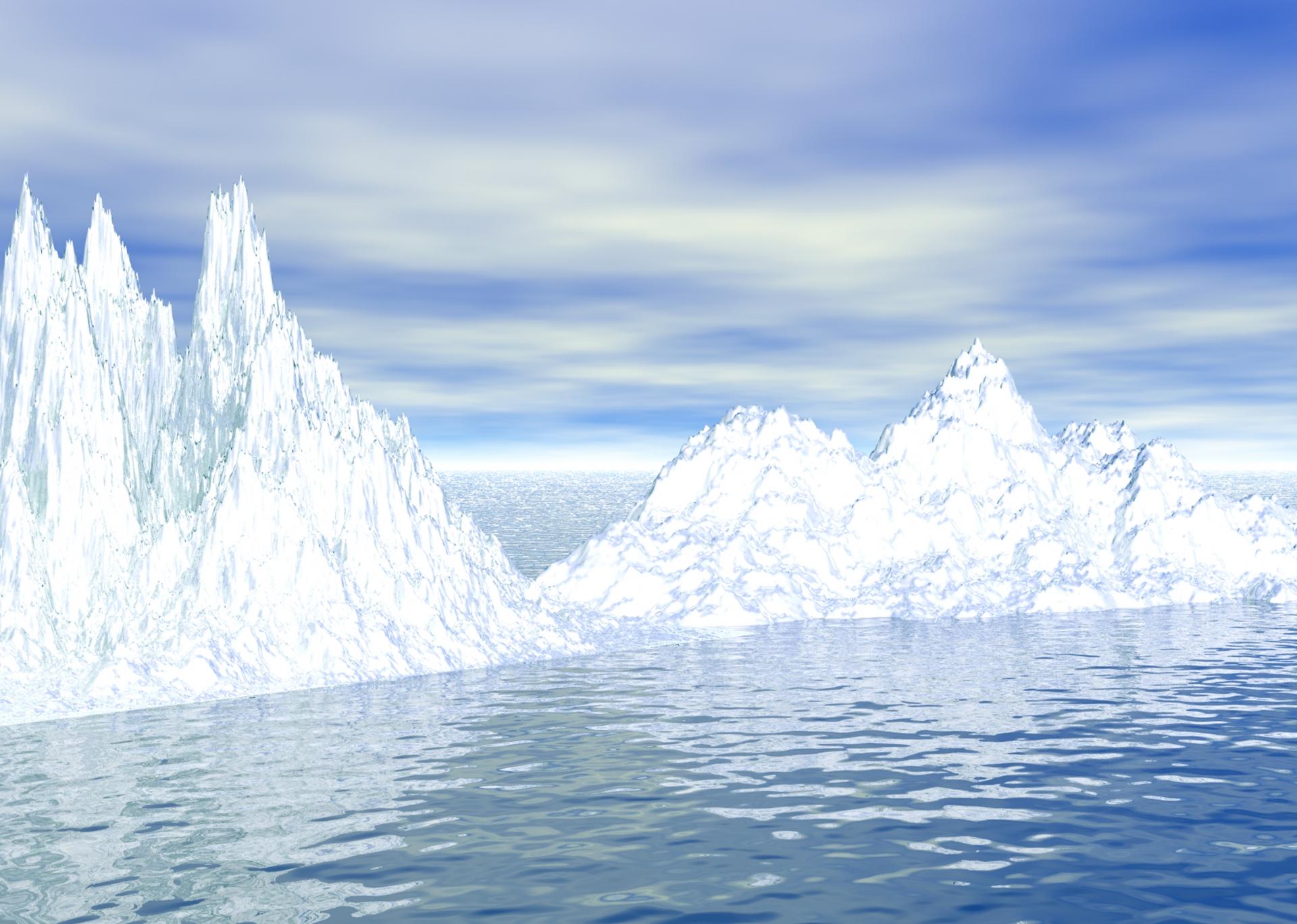 北極の秘密基地にて