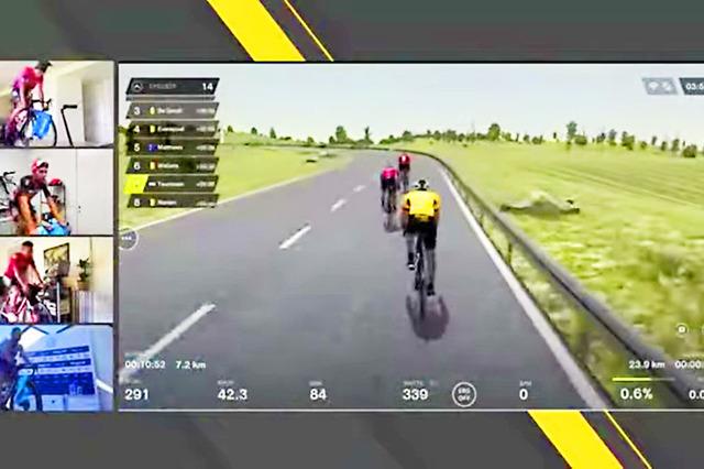 デ・ロンド2020:ロックダウン下のヴァーチャル自転車レース