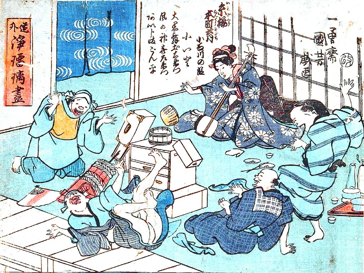 江戸時代の庶民文化と社会対流