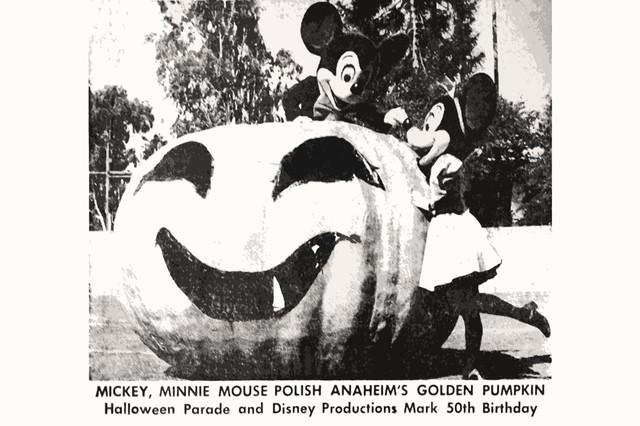 ミッキーマウスとハロウィン