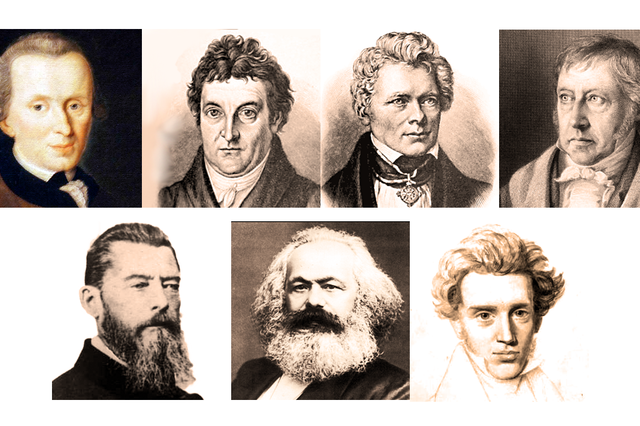 革命期のドイツ観念論:カントからキルケゴールまで