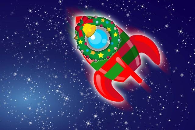 サンタ、火星へ