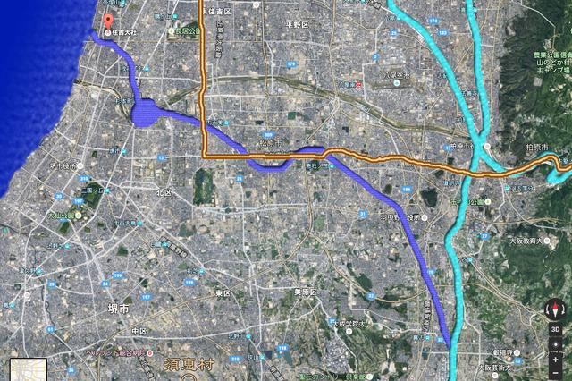 崇神天皇の住吉大運河計画