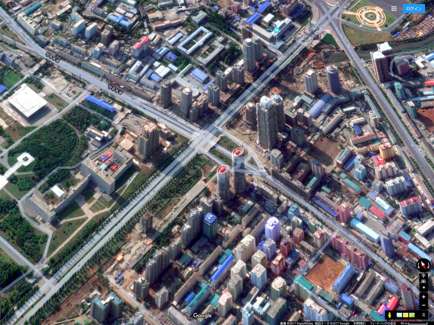 「平壌高層ビル群がハリボテ」という方がガゼのフェイクニュース