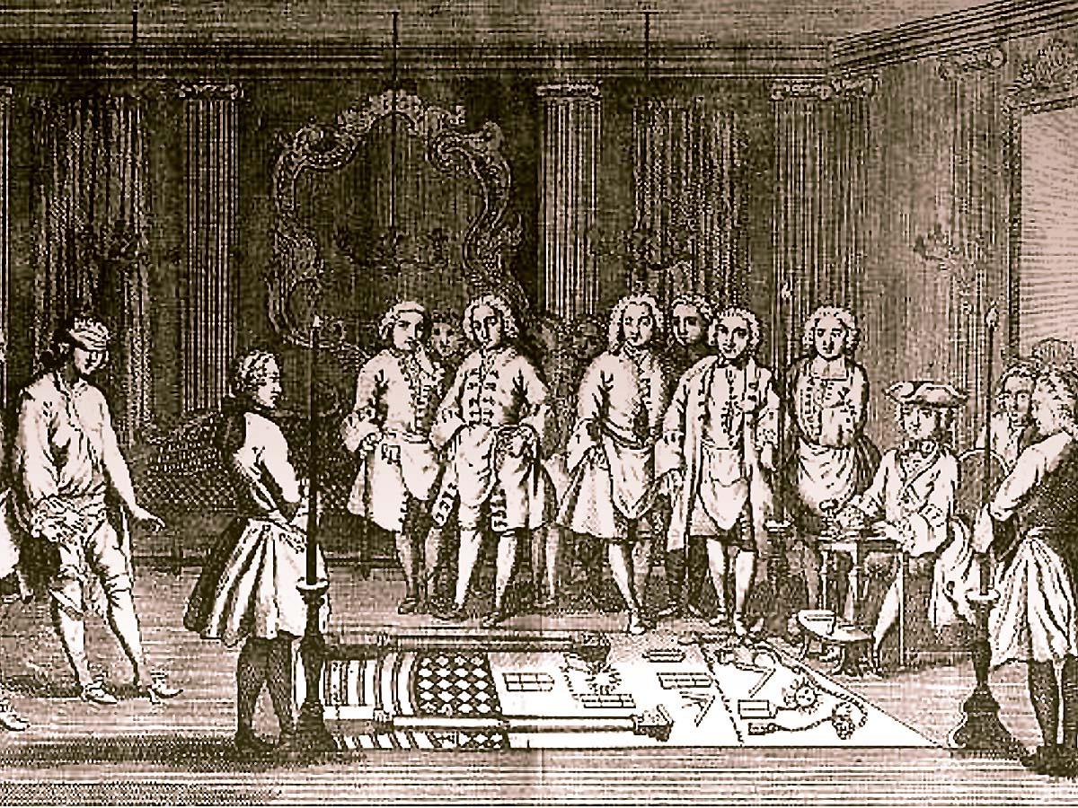 フリーメイソンの成立事情を巡る対話:レン・ニュートン・ラムゼー