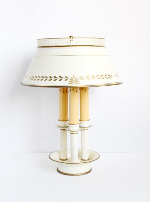 ビンテージテーブルランプ スチールシェード