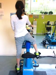 車軸移動式パワーバイク QOMジム とつぼジム スポーツ バリエ