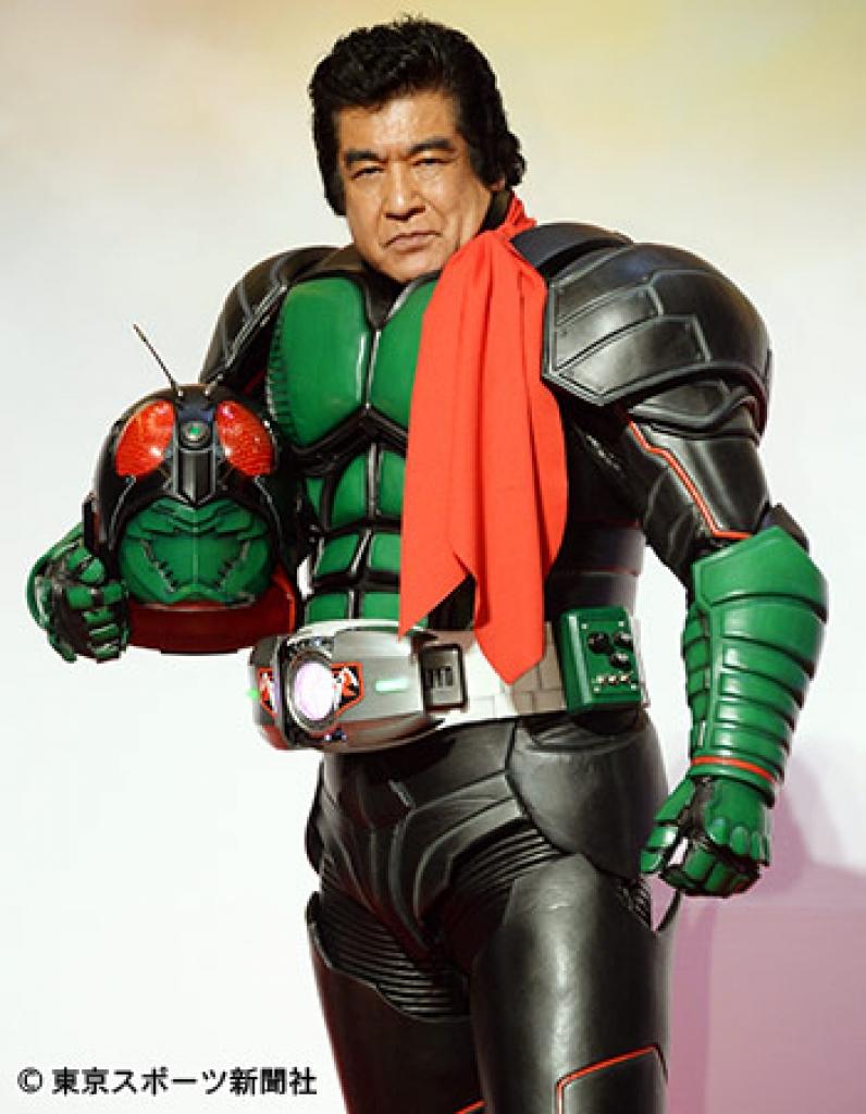 藤岡弘、70歳の仮面ライダー再び , 出ました、出ました
