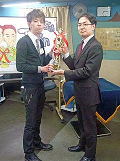 第5回Twinカップ 橘哲也プロが優勝