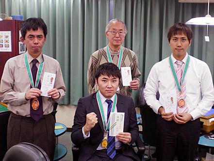 RMU「2010スプリントファイナル」谷井茂文プロが優勝