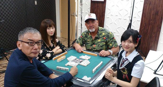 りりぽん麻雀番組に武藤さんや福本さんがゲスト参戦!