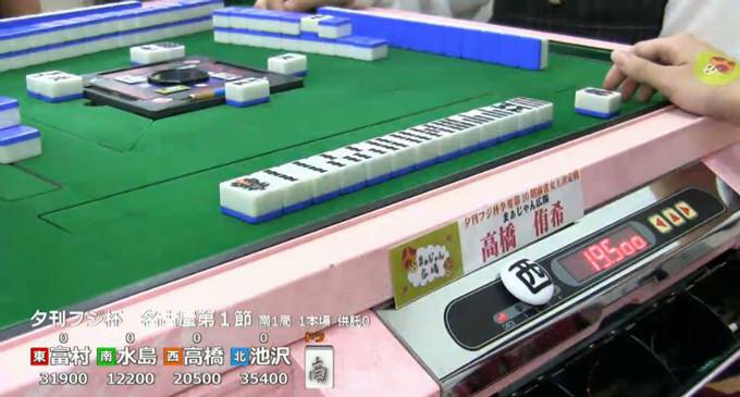 第10期夕刊フジ杯 西日本リーグ 第1節結果