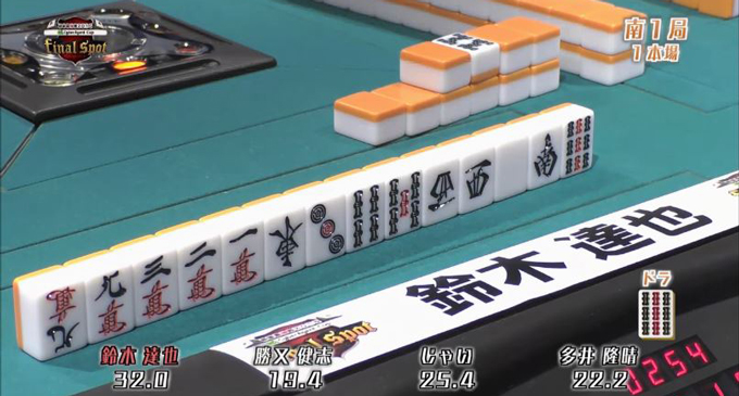 【何切る】最強戦サイバーエージェントカップ – 鈴木達也