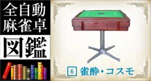 全自動麻雀卓図鑑 No.6「雀酔・コスモ」 -基本機能-