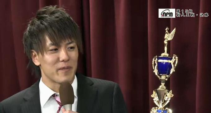 高津圭佑がプロ協会新人王 3回戦では裸単騎をツモって逆転トップ