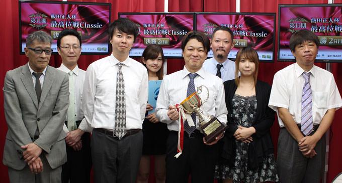 飯沼雅由が32戦ラス無しで初優勝/最高位戦Classic決勝2日目