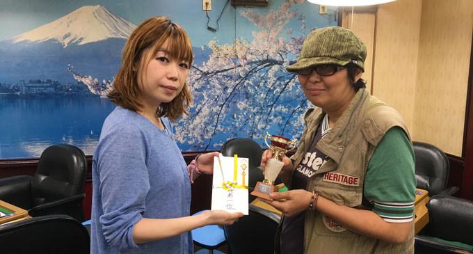 RMUスプリント・マーズカップ 優勝は増田有美さん