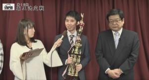 鈴木隆将が新人王 北海道から2年連続/最高位戦新人王戦